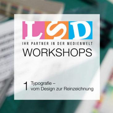 LSD (Lettern Service Düsseldorf) Workshop Teaser