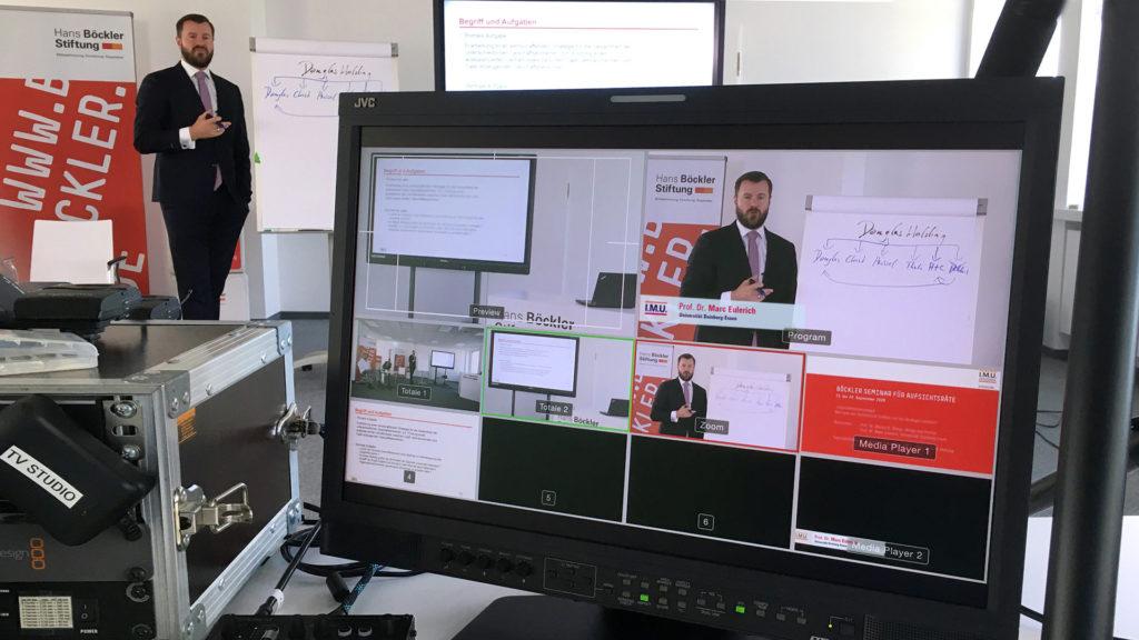 Live-Schnitt für Videokonferenzen